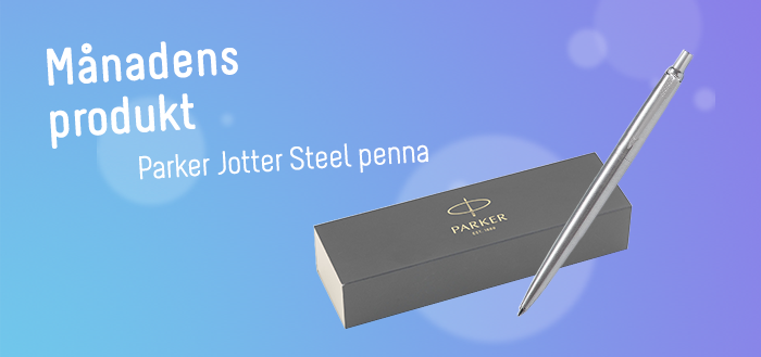 Parker Jotter kulspetspenna är en historiapenna