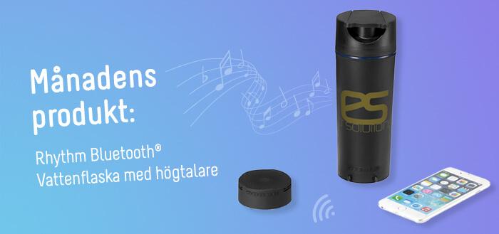 rhythm bluetooth vattanflaska med högtalare