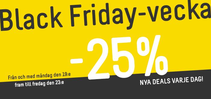 Black Friday-vecka hos IGO - Nya deals varje dag!